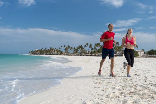 Running in Aruba
