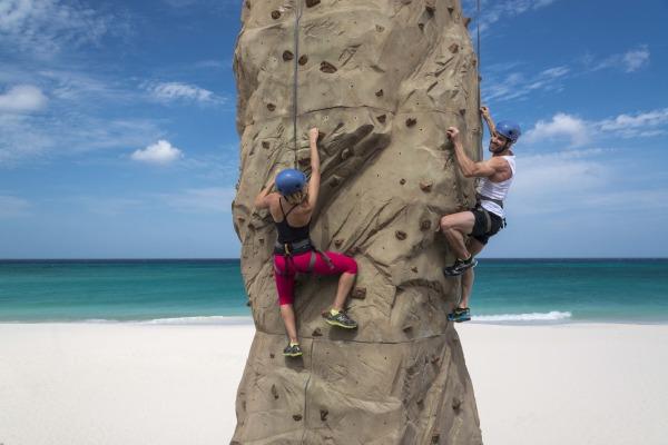 Aruba Rock Climbing