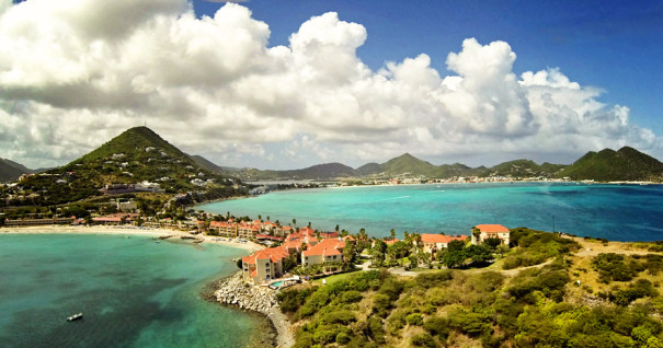 St. Maarten Sky View