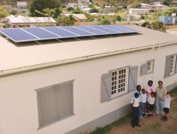 Solar Donated to School