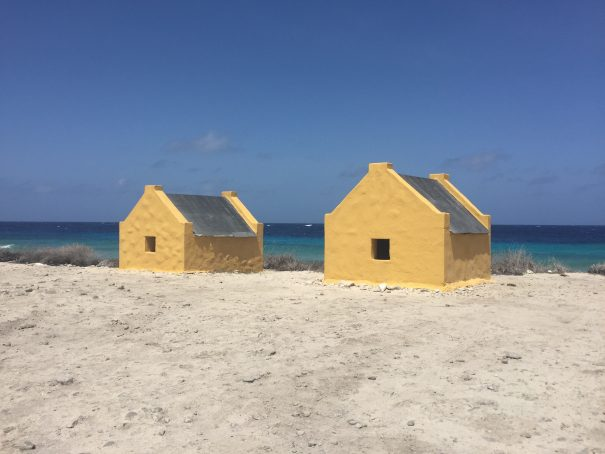 slave huts of bonaire
